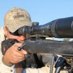 gun scope with rangefinder